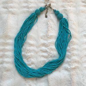 🆕 Loft Turquoise Beaded Necklace